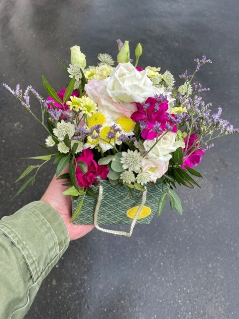 Krabička z květin online Praha