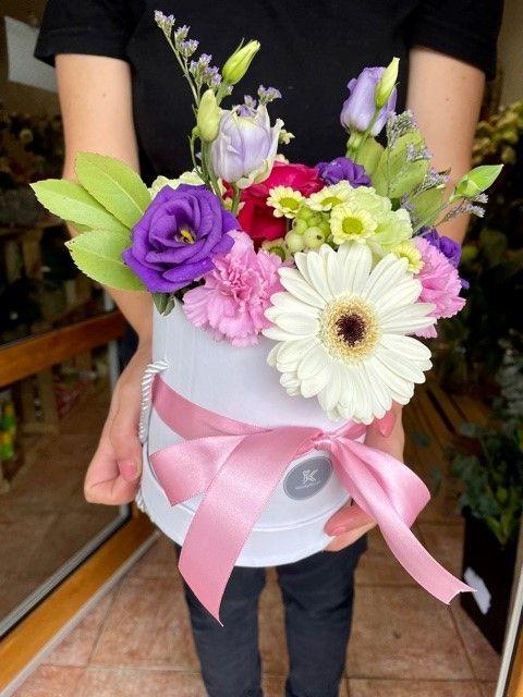 Flower box z online květinářství Praha
