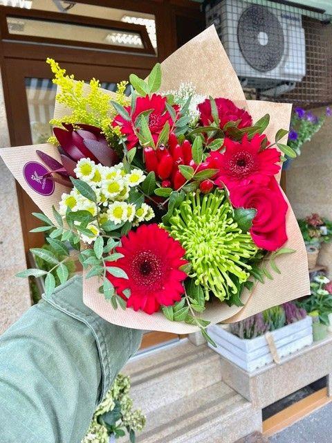 Květiny z online květinářství Praha Strašnice
