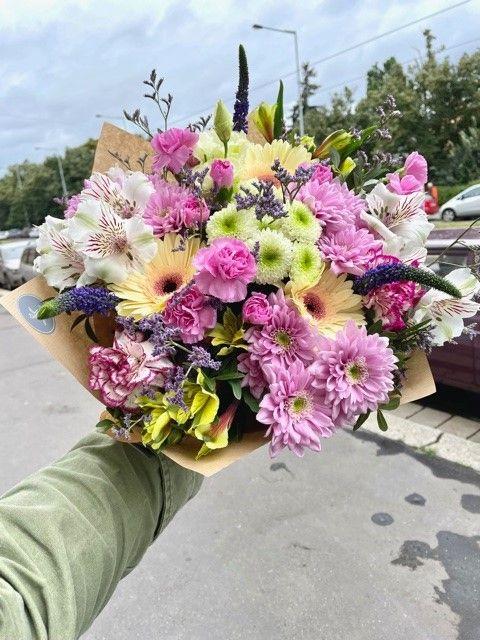 Kytice květin Květiny Strašnice