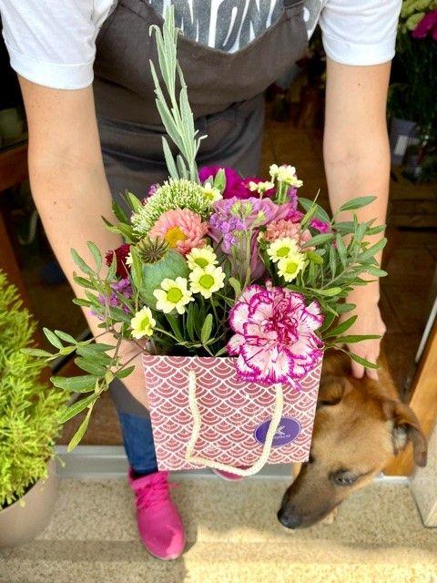 Flower box z online květinářství