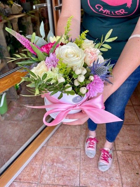 Květiny Praha v krabičce