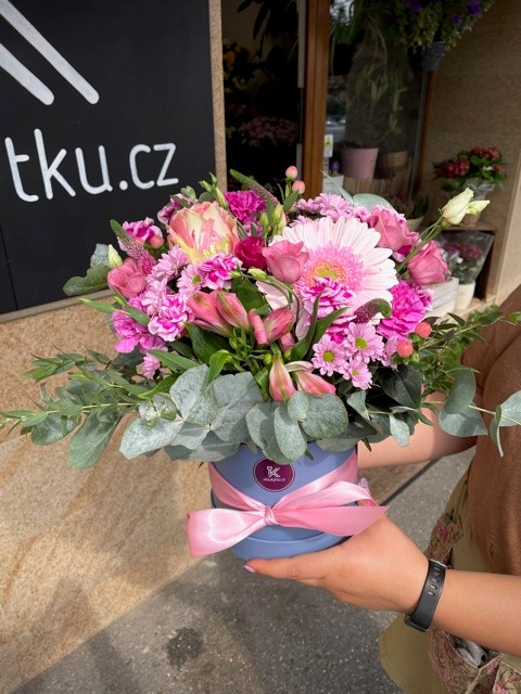 Květinová krabička květin Praha