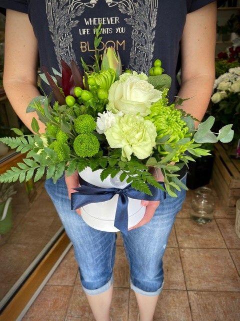 Květinová krabička květin online Praha