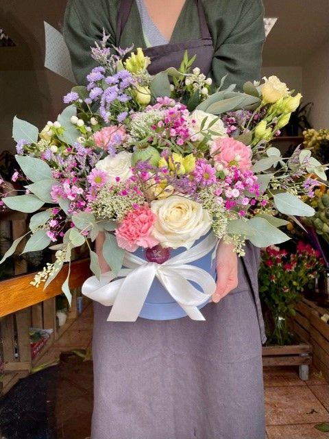 Květinový box z květinářství Strašnice