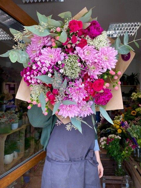 Čerstvé květiny v kytici online Praha