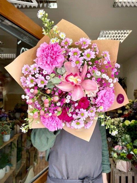 Květiny z pražského květinářství