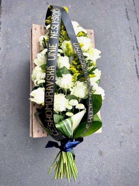 Smuteční květiny online Praha