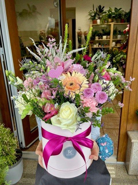 Flowerbox z květinářství Praha