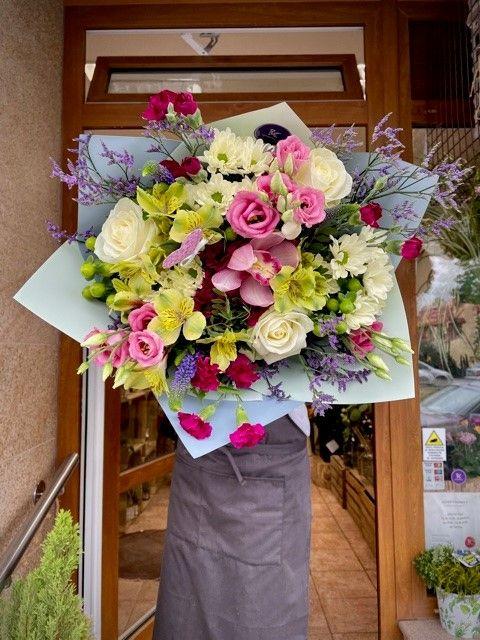 Květiny z pražského květinářství pro rozvoz
