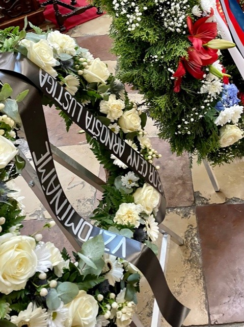 Pohřební věnec Květiny Strašnice