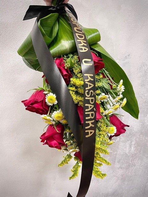 Smuteční květiny na položení Praha 10
