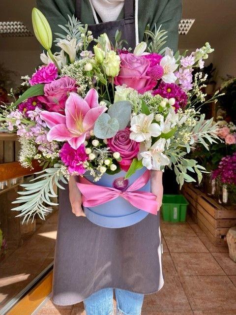 Big box květiny v krabici