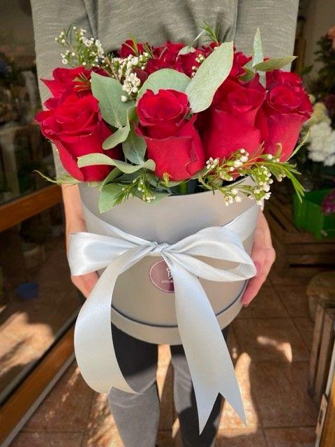 Květinová krabička růží
