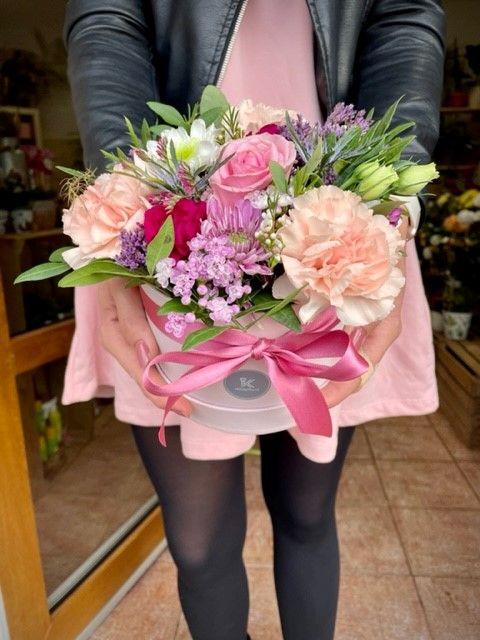 Box čerstvých květin