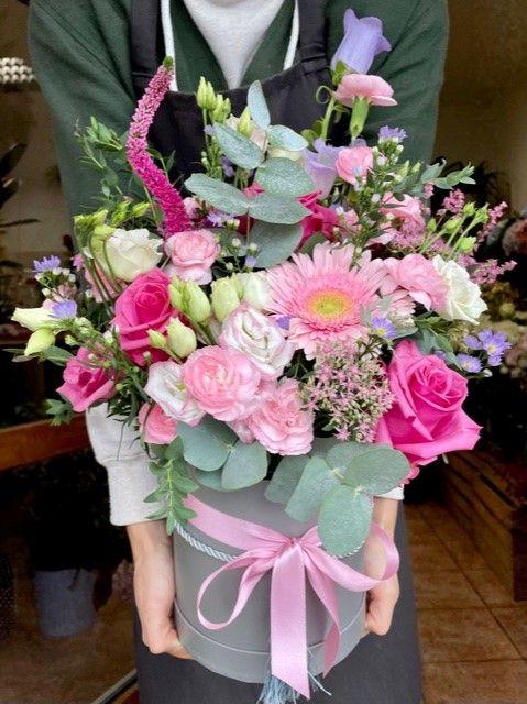 Online květiny Praha v krabičce
