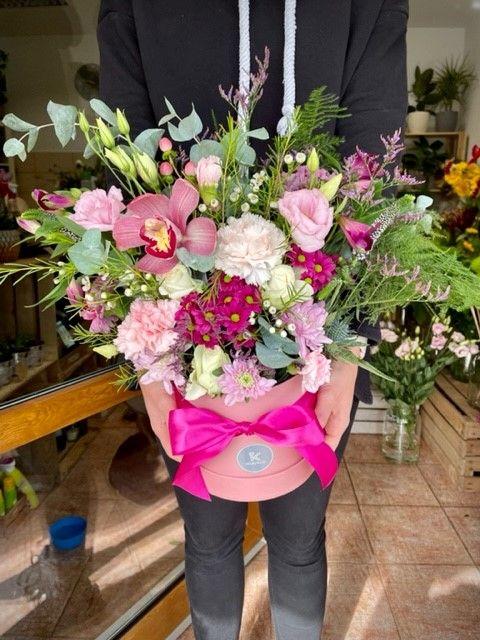 Květiny v boxu online