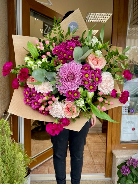 Květiny z pražského květinářství k doručení