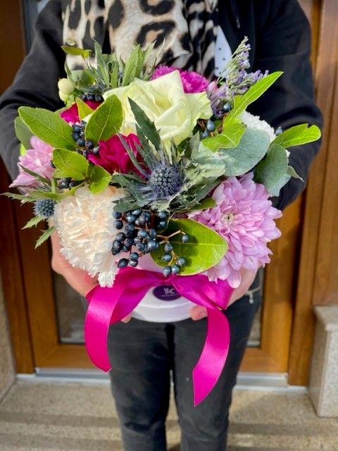 Flowerbox rozvoz květin Praha