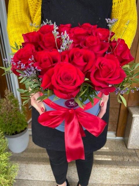 Růže v krabičce