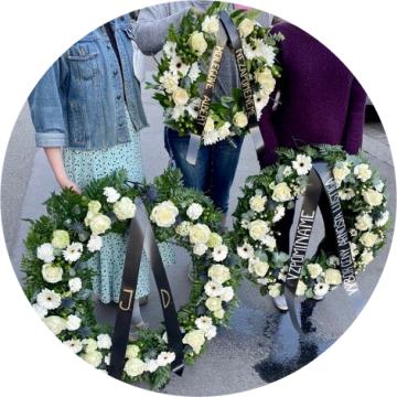 Smuteční kytice a věnce doručíme po celé Praze
