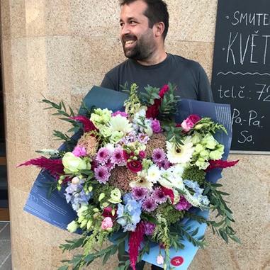 Rozvoz a doručení květin po Praze a okolí